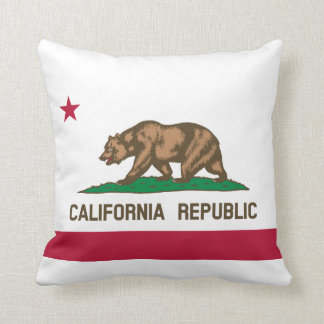 Flag of California Throw Cushion