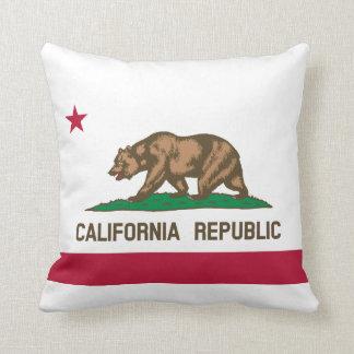 Flag of California Throw Throw Pillow