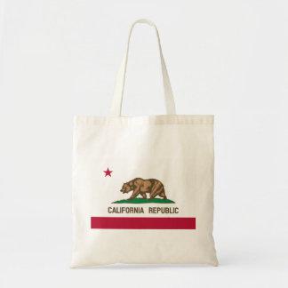 Flag of California Tote Bag