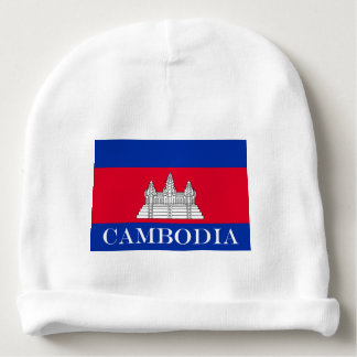 Flag of Cambodia Baby Beanie