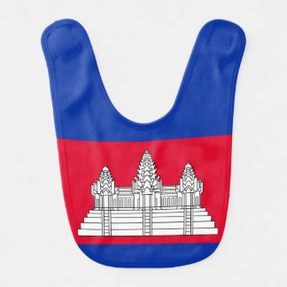 Flag of Cambodia Bib