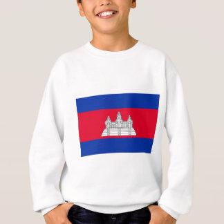 Flag of Cambodia - Cambodian Flag Sweatshirt