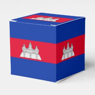 Flag of Cambodia Favour Box