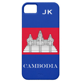 Flag of Cambodia iPhone 5 Case