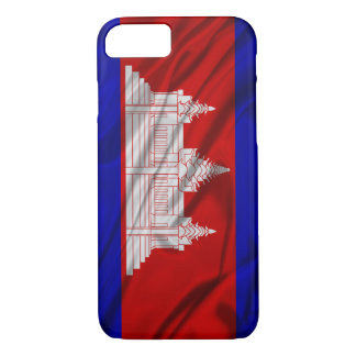 Flag of Cambodia iPhone 7 Case
