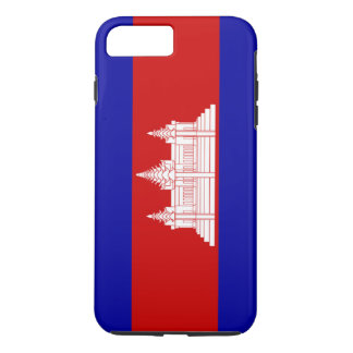 Flag of Cambodia iPhone 7 Plus Case