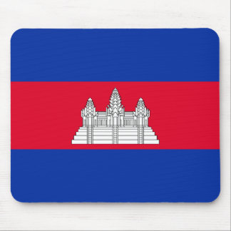 Flag of Cambodia Mouse Pad