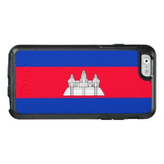 Flag of Cambodia OtterBox iPhone Case
