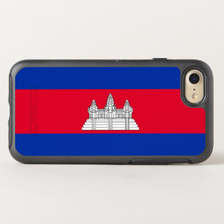 Flag of Cambodia OtterBox iPhone Case