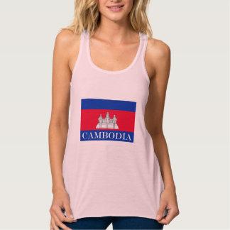 Flag of Cambodia Singlet