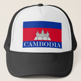 Flag of Cambodia Trucker Hat