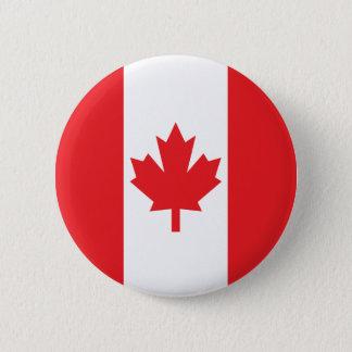 Flag of Canada 6 Cm Round Badge