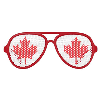 Flag of Canada Aviator Sunglasses