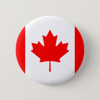 Flag of Canada Button