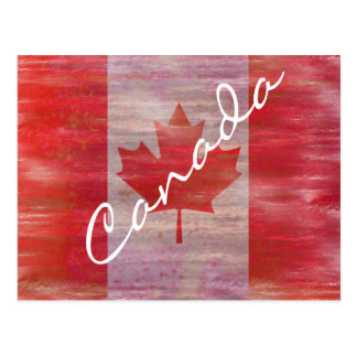 Flag of Canada - Canadian Flag - Personalise Postcard