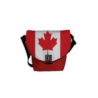 Flag of Canada Commuter Bags