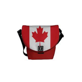 Flag of Canada Courier Bag