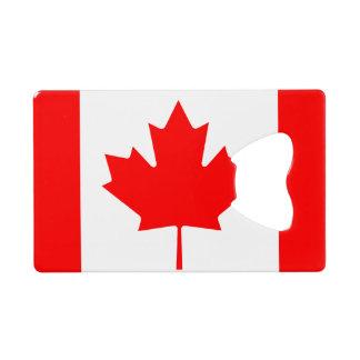 Flag of Canada Credit Card Bottle Opener