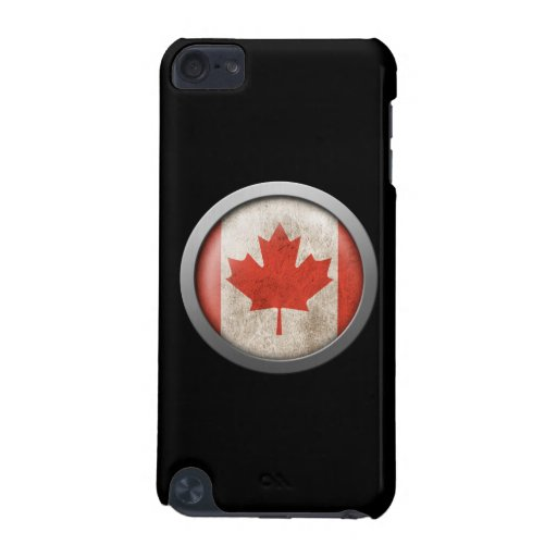 Flag of Canada Disc iPod Touch (5th Generation) Cases