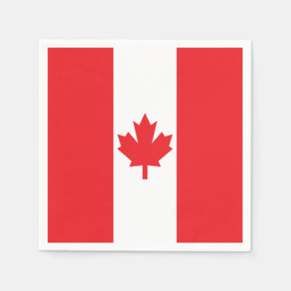 Flag of Canada Disposable Serviette