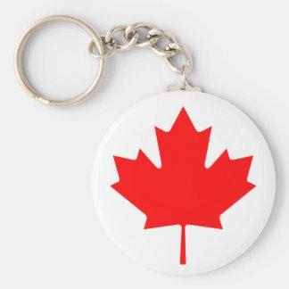 Flag of Canada - Drapeau du Canada Key Ring