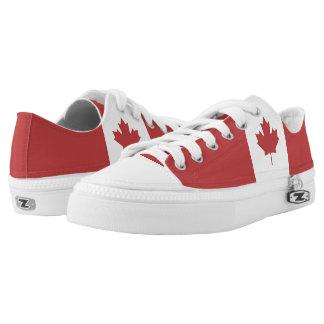 Flag of Canada - Drapeau du Canada Low Tops