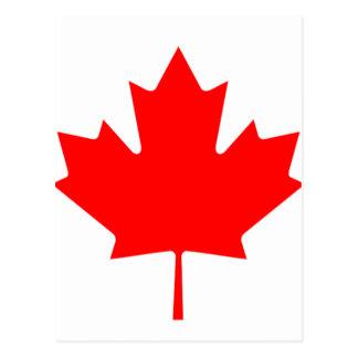 Flag of Canada - Drapeau du Canada Postcard