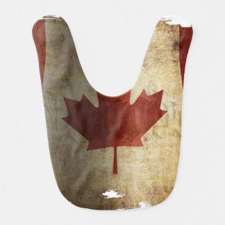 Flag of Canada / Grunge... Bib