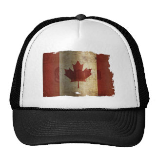 Flag of Canada / Grunge... Cap