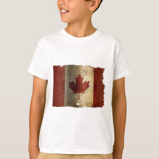 Flag of Canada / Grunge... T-Shirt