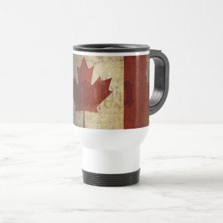 Flag of Canada / Grunge... Travel Mug