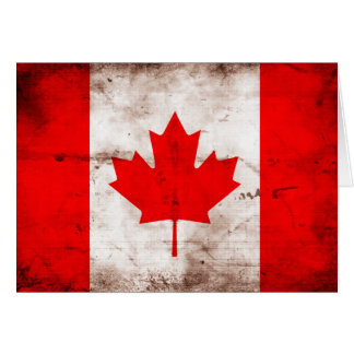 Flag of Canada Note Card