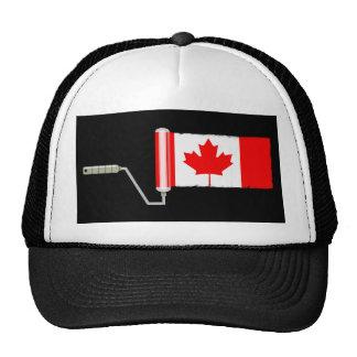 Flag of Canada Paint Roller Cap