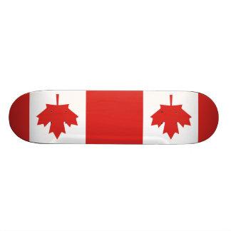 Flag of Canada Skate Decks