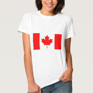 Flag Of Canada T Shirt