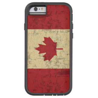 Flag of Canada Vintage Distressed Tough Xtreme iPhone 6 Case