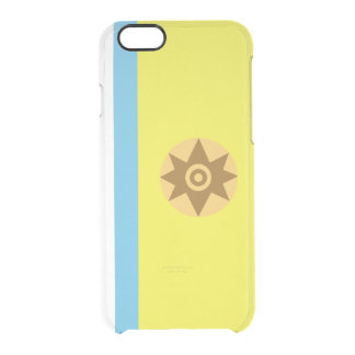 Flag of Canarian Nationalism Clear iPhone Case