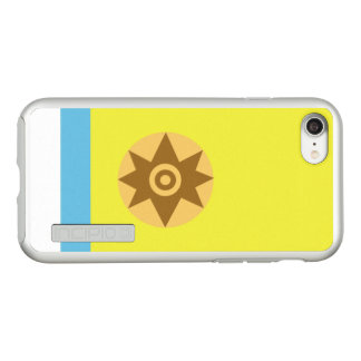 Flag of Canarian Nationalism Silver iPhone Case