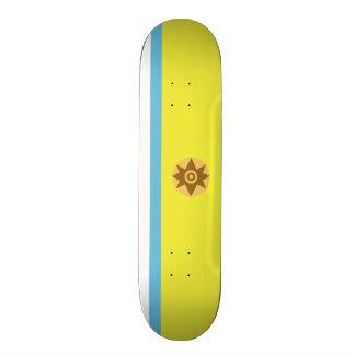 Flag of Canarian Nationalism Skateboard Deck