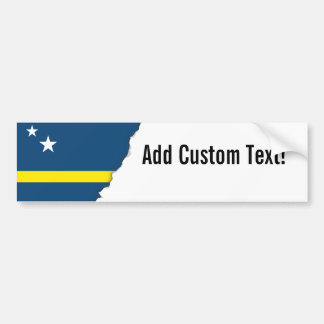 Flag of Caracao Bumper Sticker