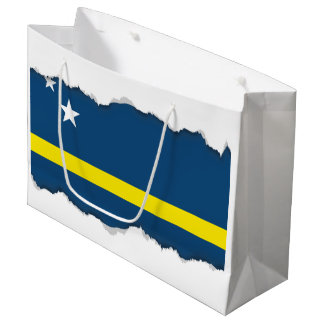 Flag of Caracao Large Gift Bag