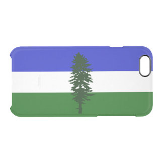 Flag of Cascadia Clear iPhone Case