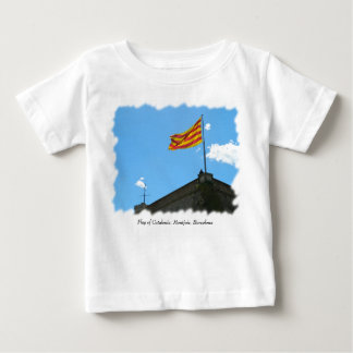 Flag of Catalonia Baby T-Shirt