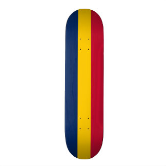 Flag of Chad Skateboard Deck