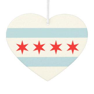 Flag of Chicago Car Air Freshener