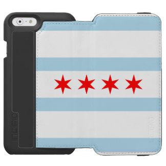 Flag of Chicago, Illinois Incipio Watson™ iPhone 6 Wallet Case