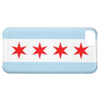 Flag of Chicago iPhone 5 Case-Mate Barely There iPhone 5C Case