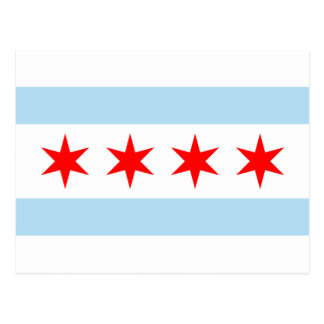Flag of Chicago Postcards