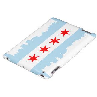 Flag of Chicago Skyline