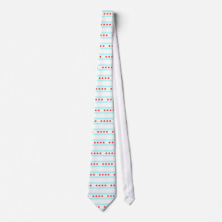 Flag of Chicago Tie